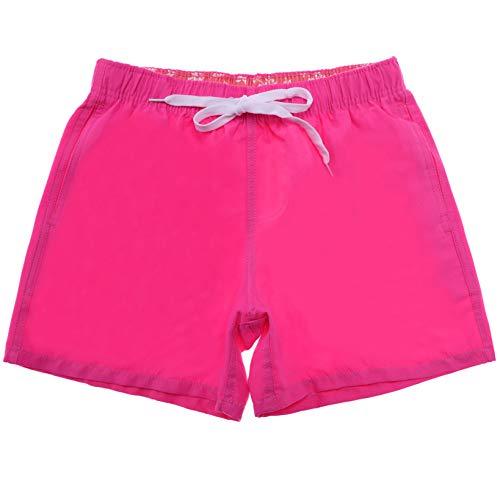 5abc29153d366 AOXION Mens Boys Short Swim Trunks Quick Dry Board Shorts Beach Bathing  Suits No Mesh Lining