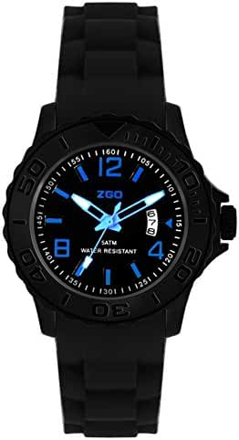 Korean adolescents luminous waterproof sport quartz watch-C