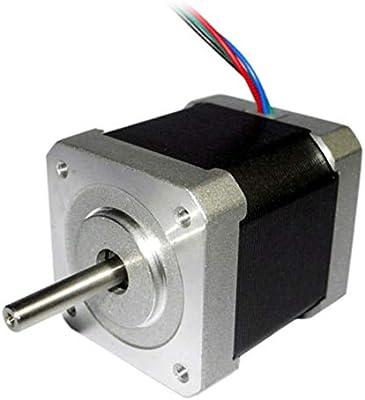 Coomir 42mm 1.8 Grados NEMA17 2 Fases Motor de Pasos de 4 Hilos ...
