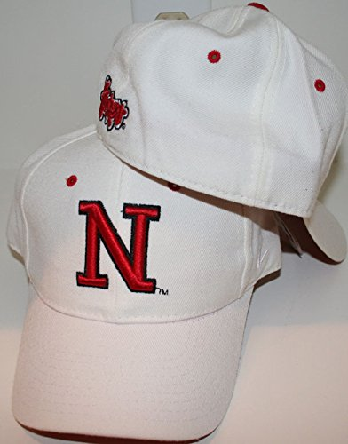 reputable site f087c 6f9f8 ... coupon for zephyr nebraska cornhuskers white dh fitted hat size 7 3 8  c638f c8a65