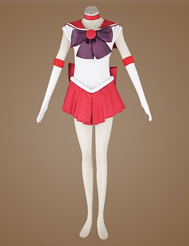 Ch&Ch Sailor Moon Rei Hino / Sailor Marte cosplay traje , m ...
