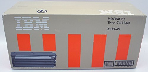 Genuine Original IBM Brand 90H0748 Toner Cartridge. For Use In: InfoPrint 20 and IBM 4320. (Identical to: Apple M5893G/A, GCC AC16379 and Xante 200-100041) (8500 Apple Laserwriter)
