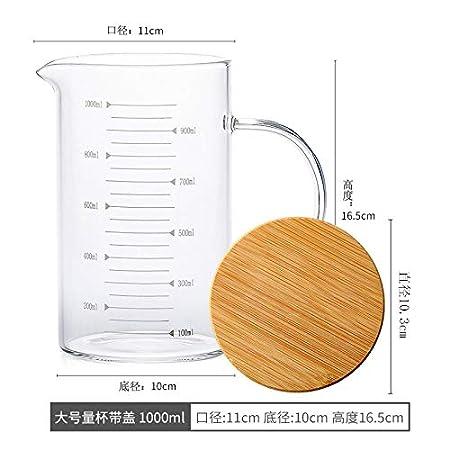 Cristalería Taza Medidora De Vidrio Resistente Al Calor Taza ...