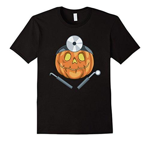 [Mens Funny Dentist Halloween Costume T-Shirt Medium Black] (Funny Dentist Costume)