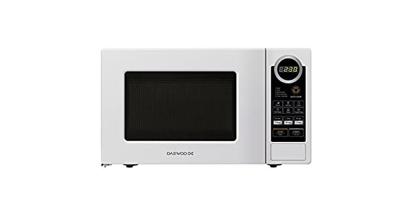 Amazon.com: Daewoo Digital microondas, color blanco: Kitchen ...
