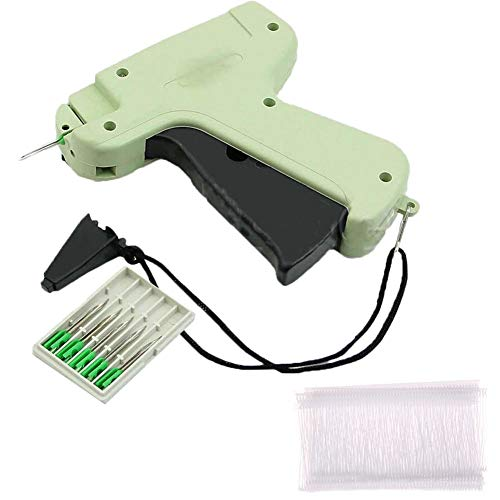 - CactusAngui Handheld Clothes Garment Price Label Tagging Tag Gun 5000 Barbs + 5 Needle Head