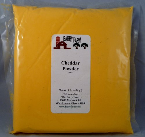 Cheddar Cheese Powder, 1 lb. by Barry Farm