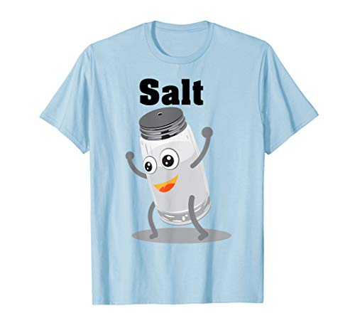 Salt Shirt | Funny Power Matching Salt and Pepper Tee Gift -