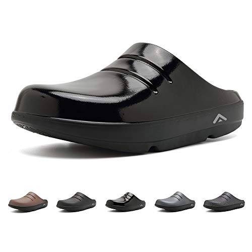 FANTURE Men & Women Sandals Arch Support Recovery Slipper Sport Clog Ultra Soft Foot Pain Relief Slide
