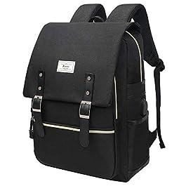 KAUKKO Laptop Travel School Backpack Sports Work Bag College Waterproof Rucksack