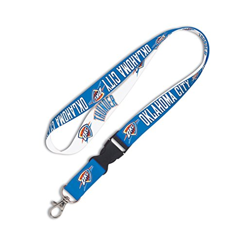 fan products of NBA Oklahoma City Thunder 35059010 Lanyard with Detachable Buckle, 3/4