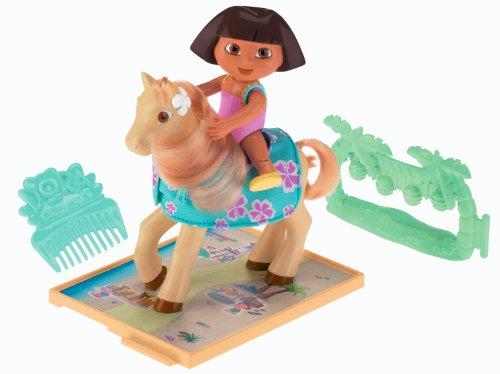 Dora Ride On Toy - Fisher-Price Dora's Pony Adventures Playset: Dora and Lickety Split