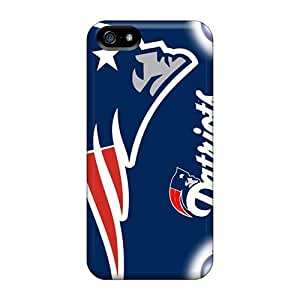 New Gegory Super Strong New England Patriots Hd Tpu Case Cover For Iphone 5/5s