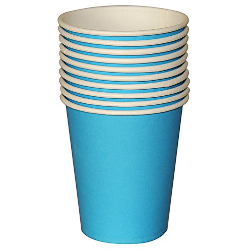 Tance Hot Party Paper Cups,10 Count, Multiple Colors