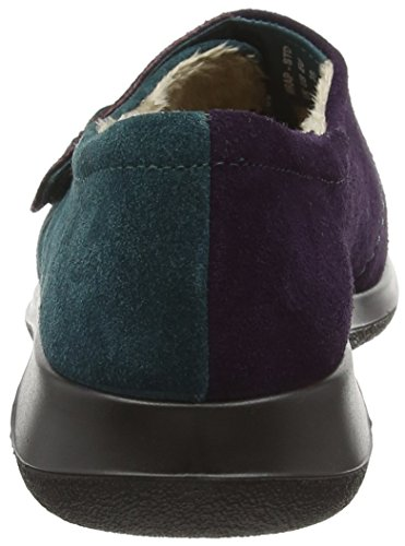 Hotter Damen Hausschuhe Teal Wrap Plum Multicolor 7pr7q