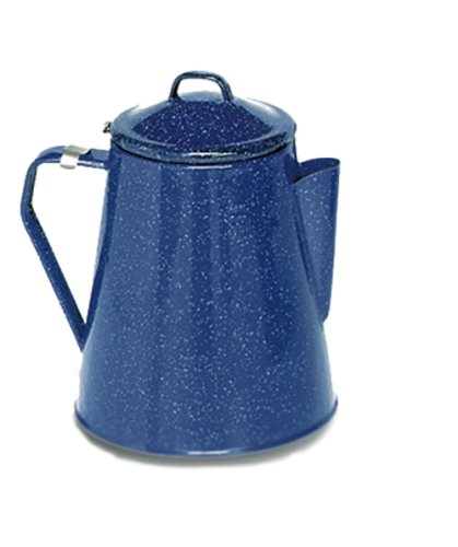 enamelware coffee percolator - 3