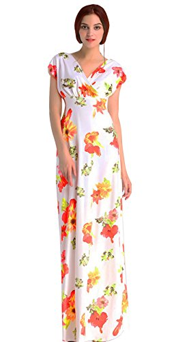 Floral Jersey Wrap Dress - 8