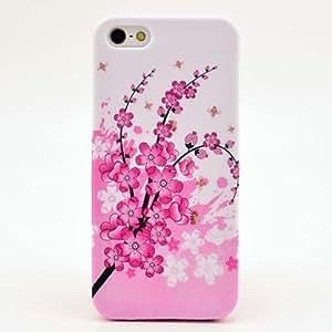 HC-Wintersweet caso de la cubierta del diseño para el iPhone 5/5S