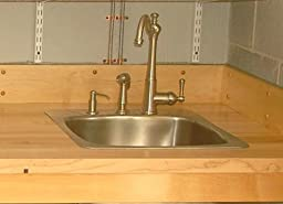 Faucetland 006001980 Brushed Nickel Single Handle Kitchen