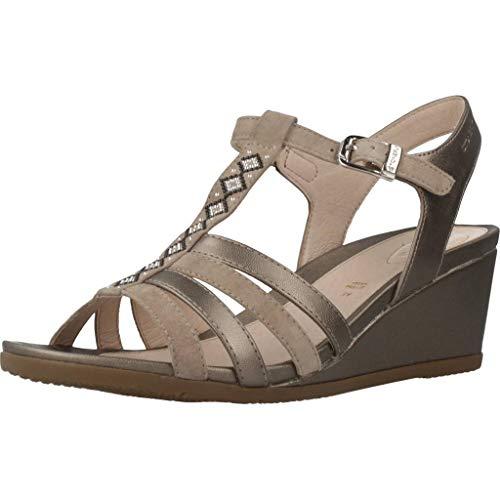 Sandalo 210850 075 Primavera Donna Marrone Pelle Estate In Beige Blu Scarpe Nero Stonefly 2019 B5XgZX