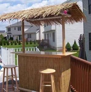 Portable Tiki Bar - Indoor or Outdoor Use - Put Together ... on Portable Backyard Bar id=97690