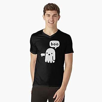 p Black Round Neck T-Shirt For Men