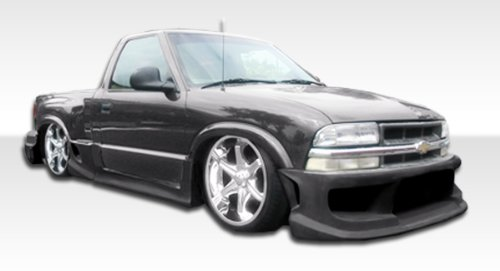 Duraflex 111101 1994-2004 Chevrolet S-10 Standard Cab Duraflex Drifter Body Kit - 6 Pi