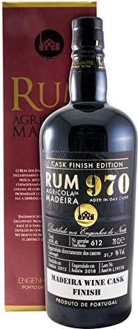 2012 Rum Agrícola da Madeira 970 Madeira Wine Cask Finish ...