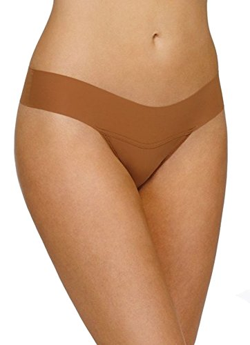 Hanky Panky Womens BARE Eve Natural Rise Thong in Toffee Size Small