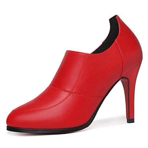 PUMPS Damenschuhe,Stiletto Spitze Schuhe-B Fußlänge=24.3CM(9.6Inch)