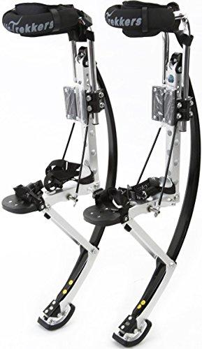 Air-Trekkers Adult Model - Carbon Fiber Spring Jumping Stilts - Medium, 160-210 lbs by Air-Trekkers