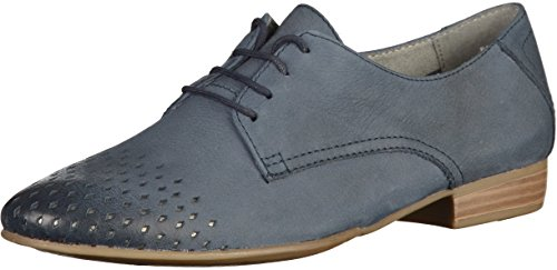 Navy Femmes 23203 Derbies 28 1 Tamaris SXx8B8
