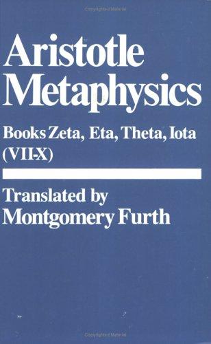 Metaphysics: (Bks. 7-10) (Hackett Classics) (Bks. 6-10)
