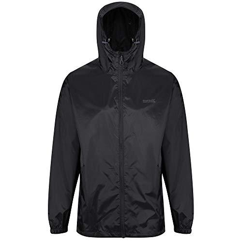 (Regatta Pack-It III Waterproof Jacket - SS19 - X Large - Black )