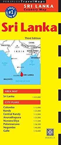 (Sri Lanka Travel Map Third Edition (Periplus Travel Maps: Country Map))