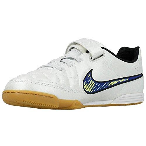 Nike - JR Tiempo V4 IC - 658103174 - Color: Blanco - Size: 36.5