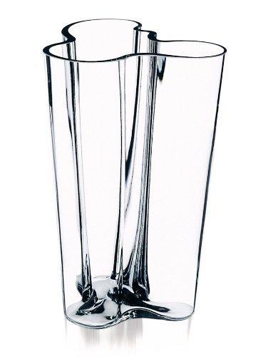 - Iittala Alvar Aalto 10-Inch Finlandia Vase, Clear by Iittala