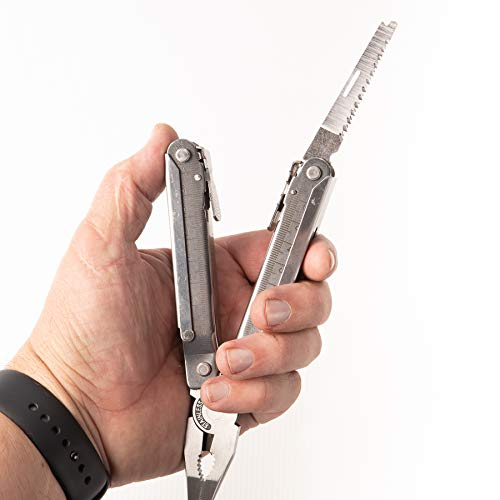 (Handsome Multi Tool - Full Handsome Toolbox in Your Pocket Multi-tool w Knife and Multi-functional Tool Scissors,)