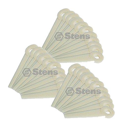 Nylon Trimmer Blade (Stens 390-040-3pk Replacement Nylon Trimmer Blades for Stihl 4111 007 1001 (36-pack))