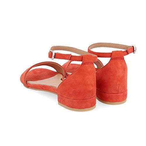 naranja Gioseppo 48940 000 Femme Ouvert Sandales Bout Orange aqzrgaYn