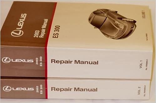 lexus es300 service manual