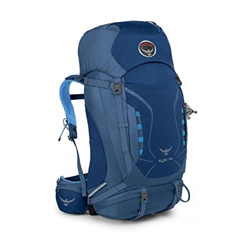 Osprey Packs Women's Kyte 46 Backpack, Ocean Blue, - Beginner Skis Womens