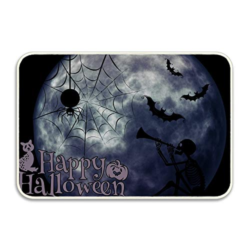 VEZEFOR Personalized Funny Halloween Wallpaper Mats Entrance Mat Floor Rug Indoor/Bathroom Mats]()
