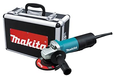 Makita 9557PBX 4-1/2-Inch Angle Grinder with Paddle Switch and Aluminum Case