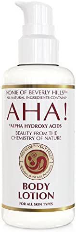 Nonie AHA Body Lotion - All Skin Types/All Natural