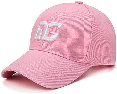 Color : Light pink A Outdoor Sports Caps New Breathable Caps LDDENDP Male and Female Baseball Caps Sunhats Casual Wild Fashion Trend Sports Cap Classic Baseball Cap Adjustable Size