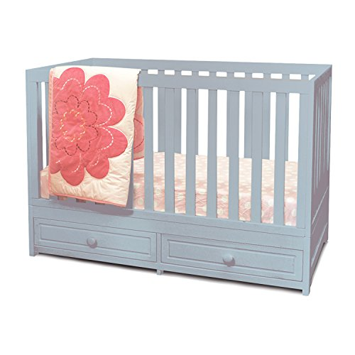 Athena AFG Marilyn 3-in-1 Convertible Crib Grey