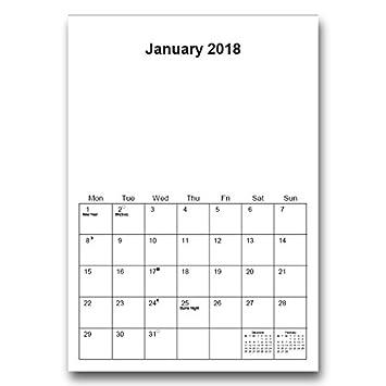 plain calendar