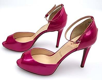 CHRISTIAN LOUBOUTIN Zapato DE TACÓN Fucsia para Mujer Art. Claudia PK1S 36 Fuxia