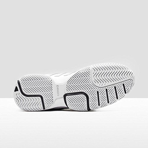 Barricade Negbas Silber Schwarz 2 Court Ftwbla Plamat Damen adidas W Turnschuhe Weiß PZwSf
